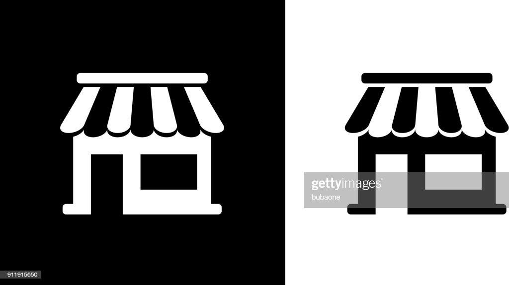 Kleinunternehmen Schaufenster Kiosk. : Stock-Illustration
