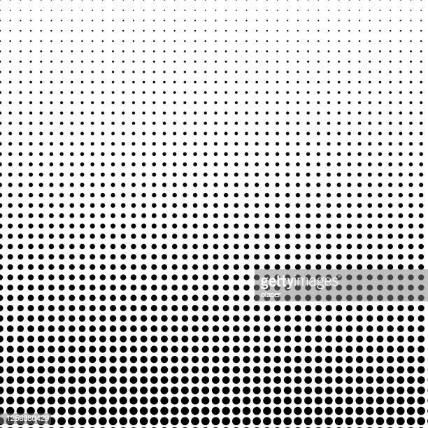 small circular shape pattern, with vertical size gradient. - spotted stock illustrations