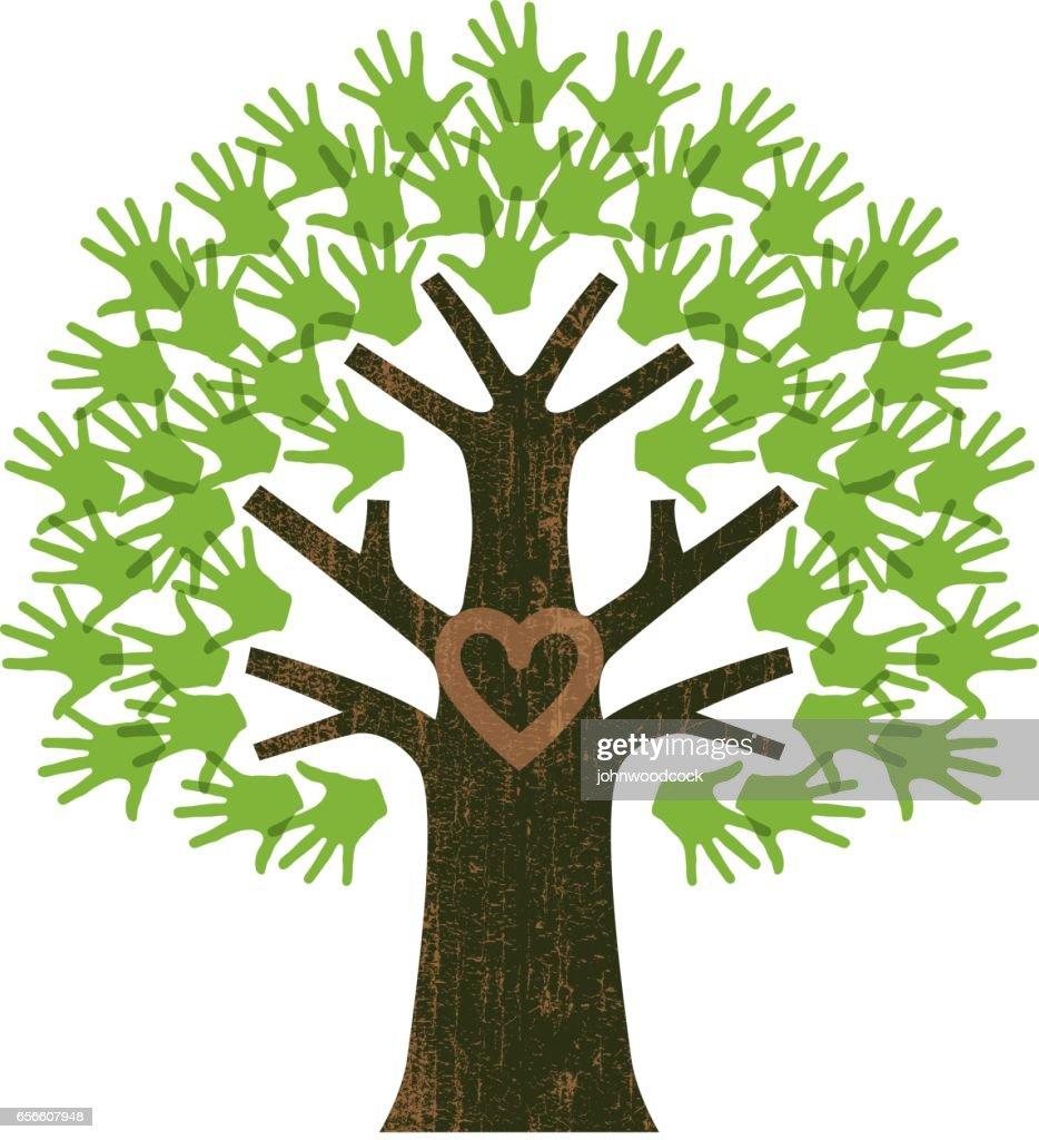 Small family tree illustration