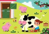 Small Farm Girl