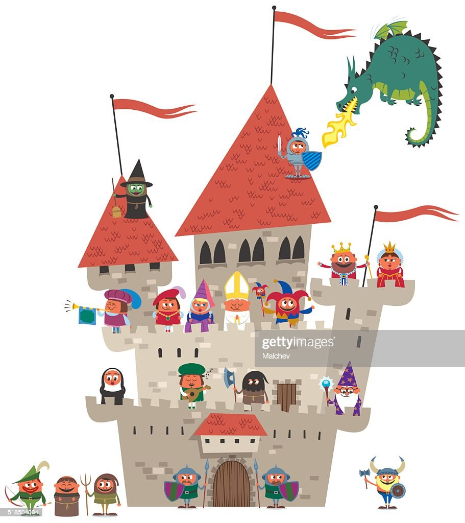 Small Kingdom on White