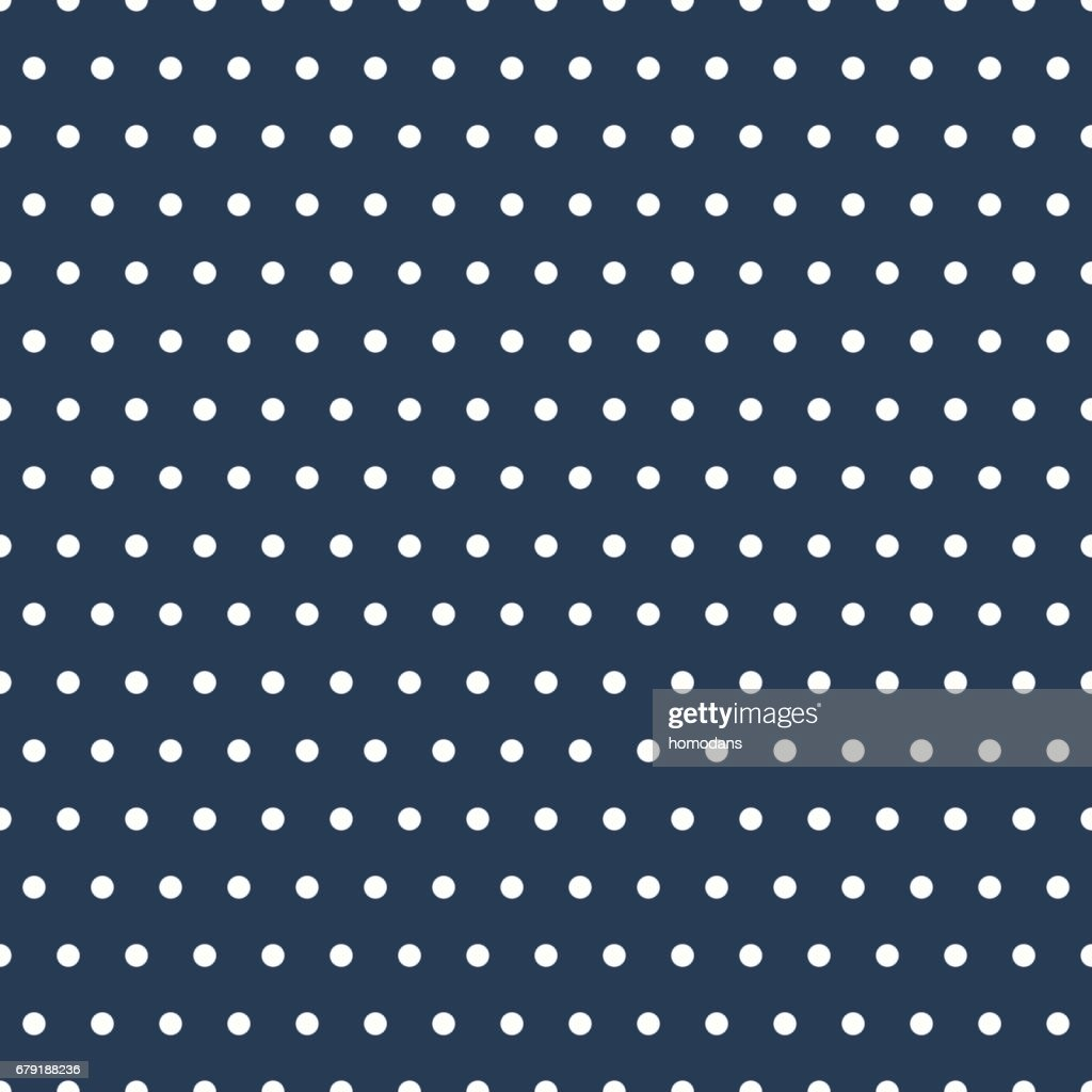 Small polka dot pattern vector