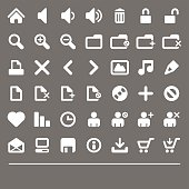 small Web & Internet icons