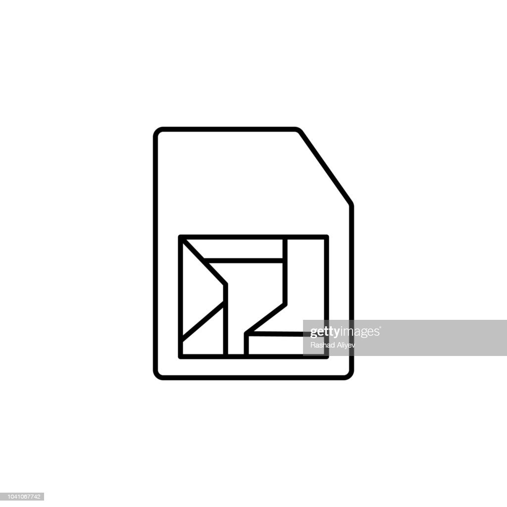 Smart card smart data icon. Element of artificial intelligence icon for mobile concept and web apps. Thin line Smart card smart data icon can be used for web and mobile