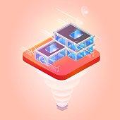 Smart City or Intelligent Building on Platform.