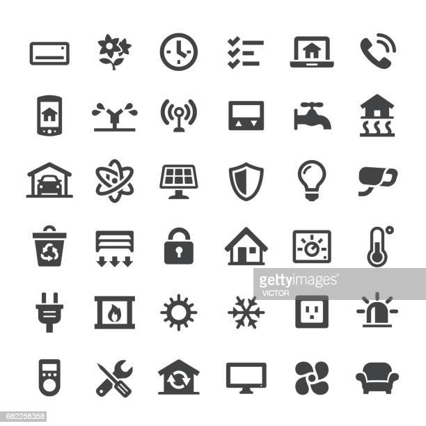Smart House Icons - Big Series