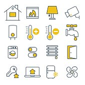 Smart House management Icons