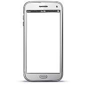 Smart Phone Hand Drawn Vector Illustration.