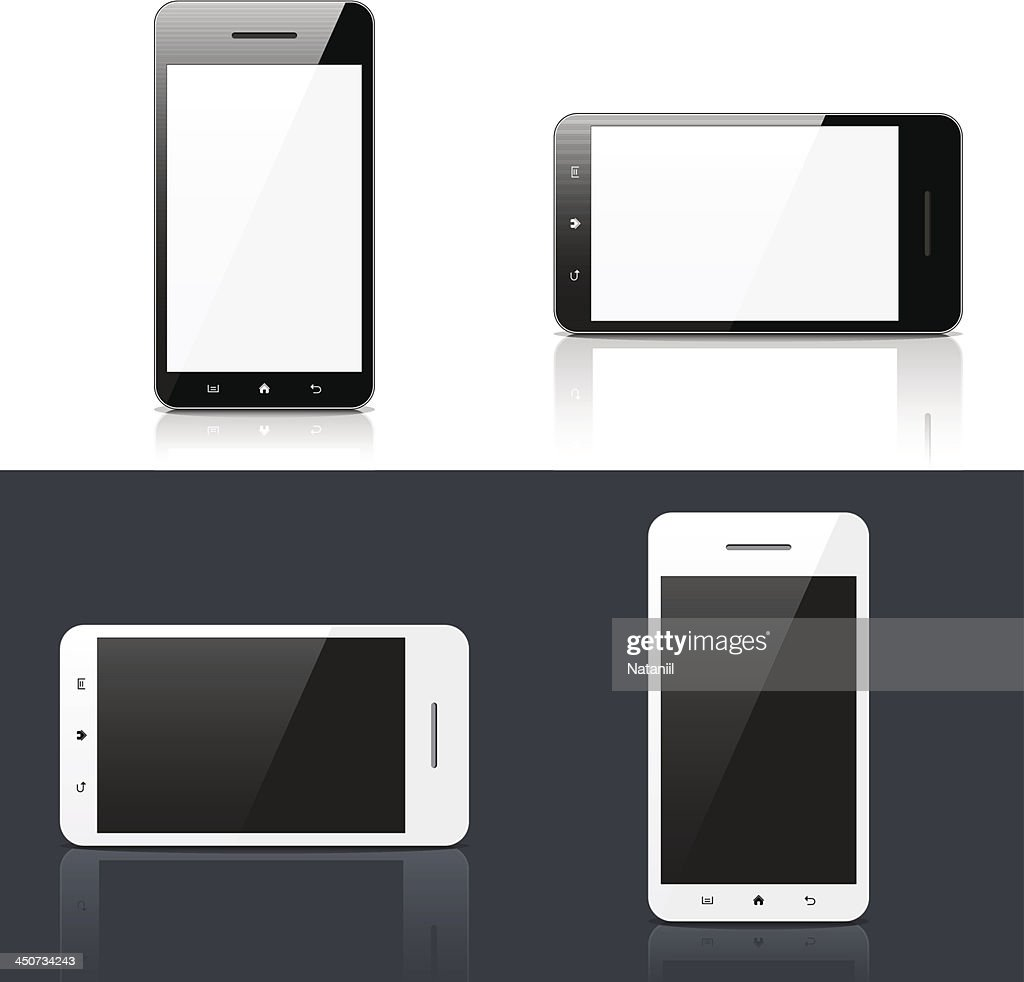 Smart phone : stock illustration