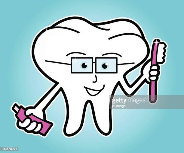 ilustraciones, imágenes clip art, dibujos animados e iconos de stock de smart dientes - habitos de higiene