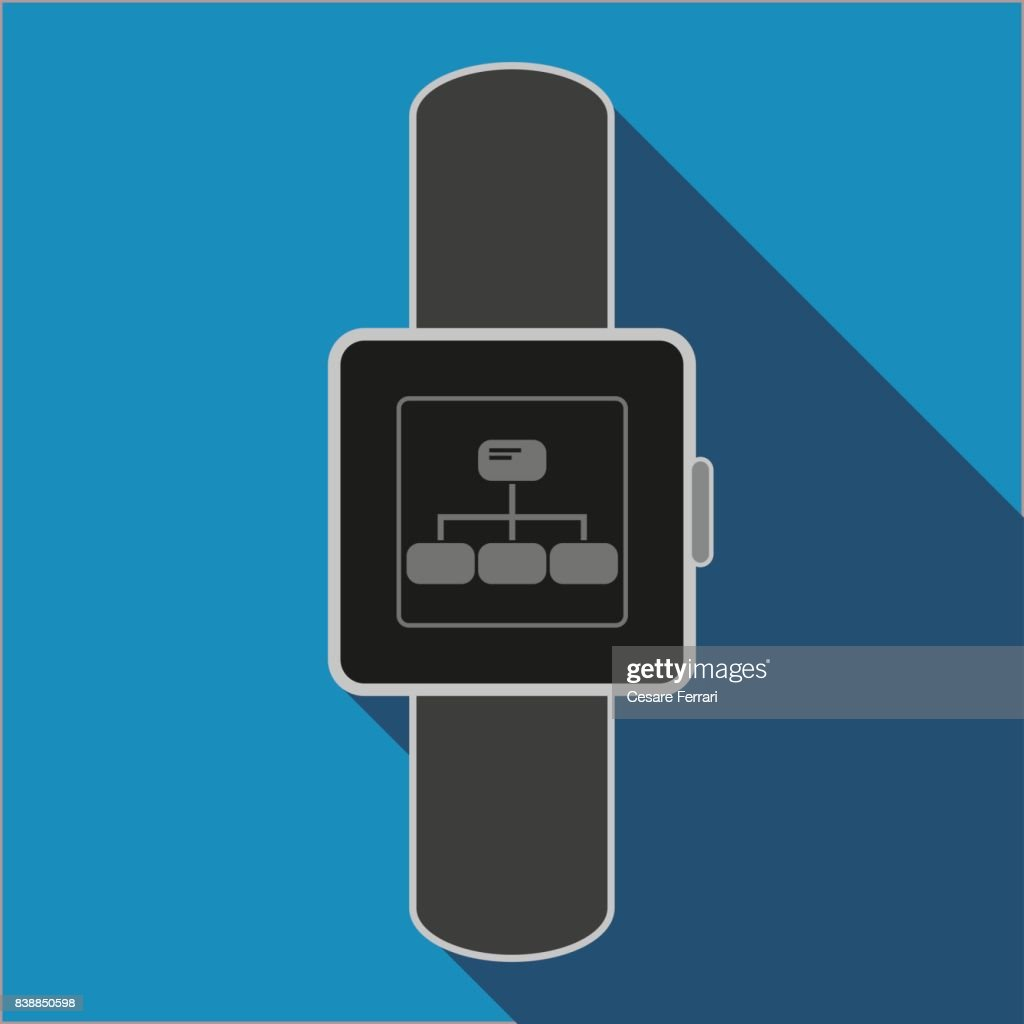 Smart watch chat icon