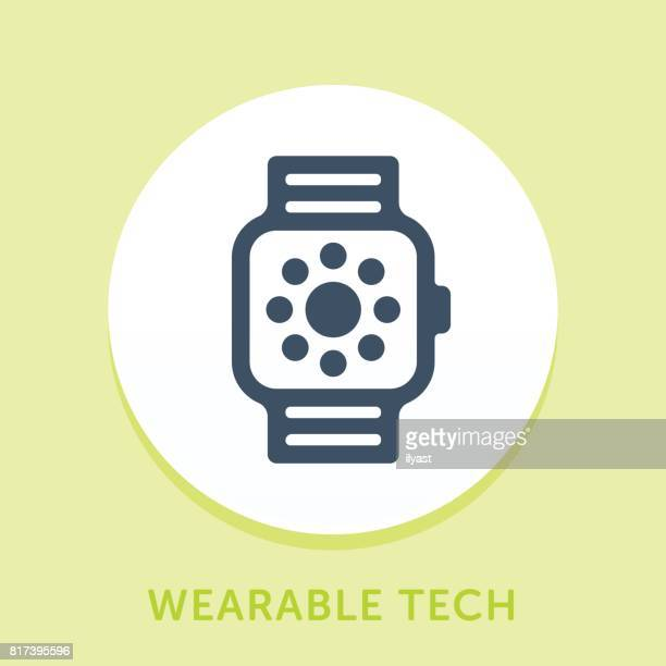 Smart Watch Curve Icon