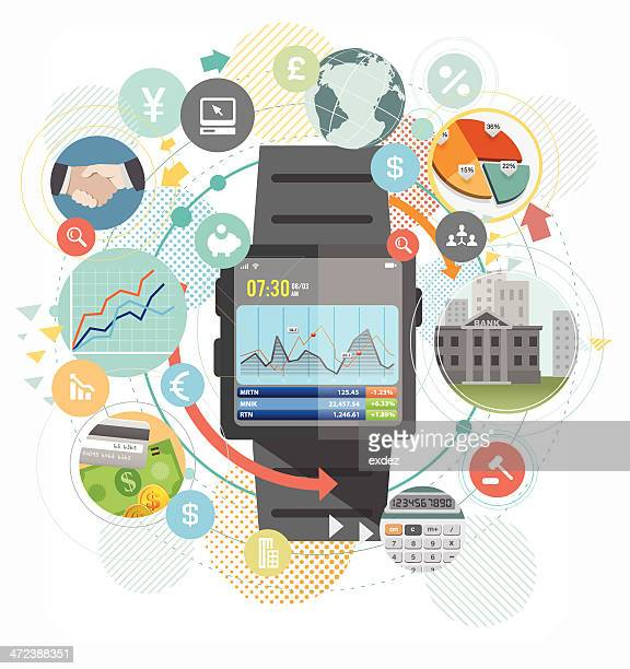 Smart watch for business