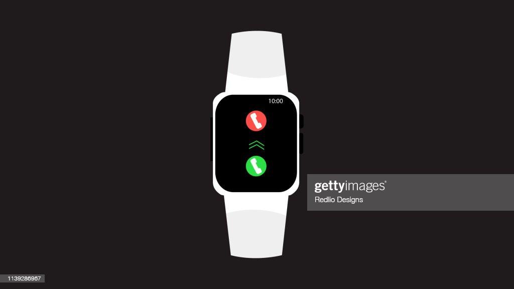 Smart Watches Icon : stock illustration