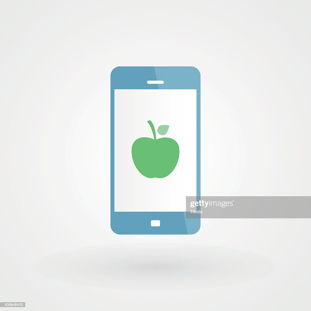 Smartphone and apple