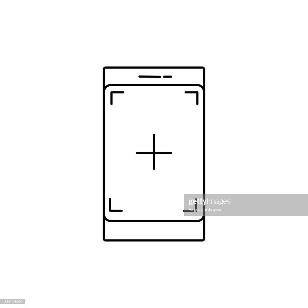 Phone camera icon