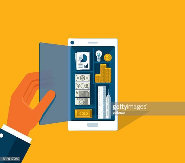 Smartphone pour les voyageurs d'affaires