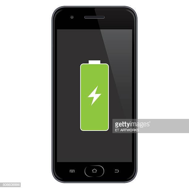Smartphone Full Battery.