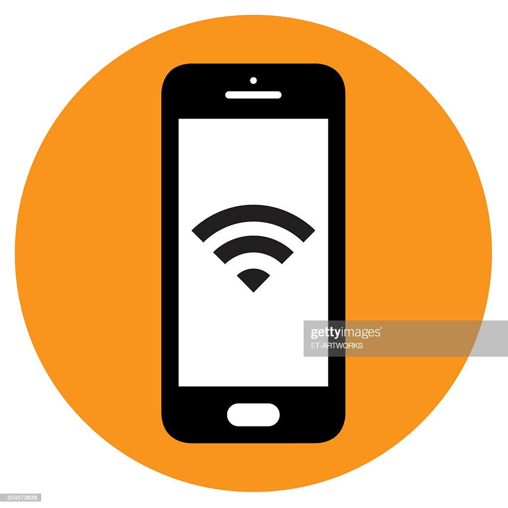 Smartphone icon. Vector