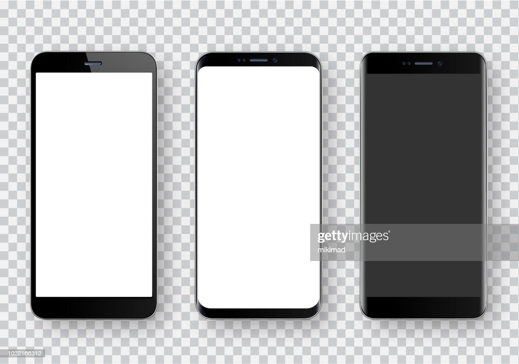 Smartphone, realistic vector  illustration