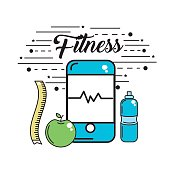 smartphone to fitness use and healthy life