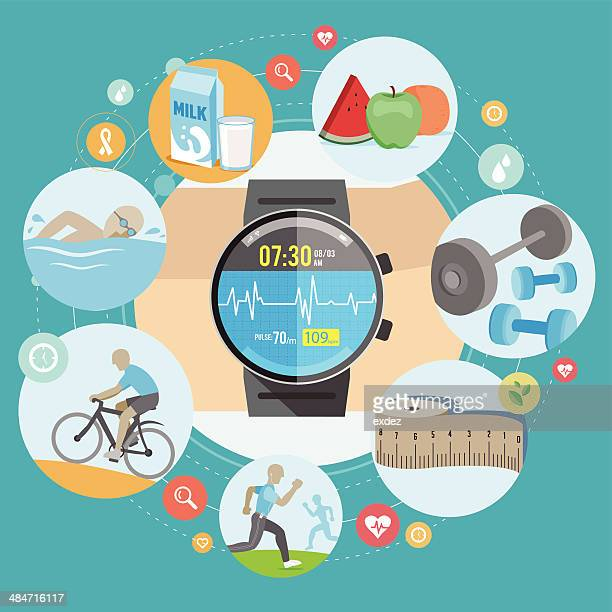 Smartwatch for fitness