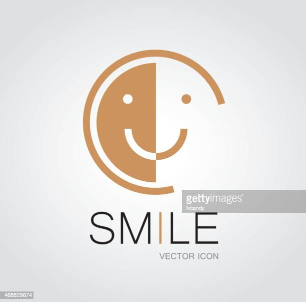 smile face symbol - smiling stock illustrations