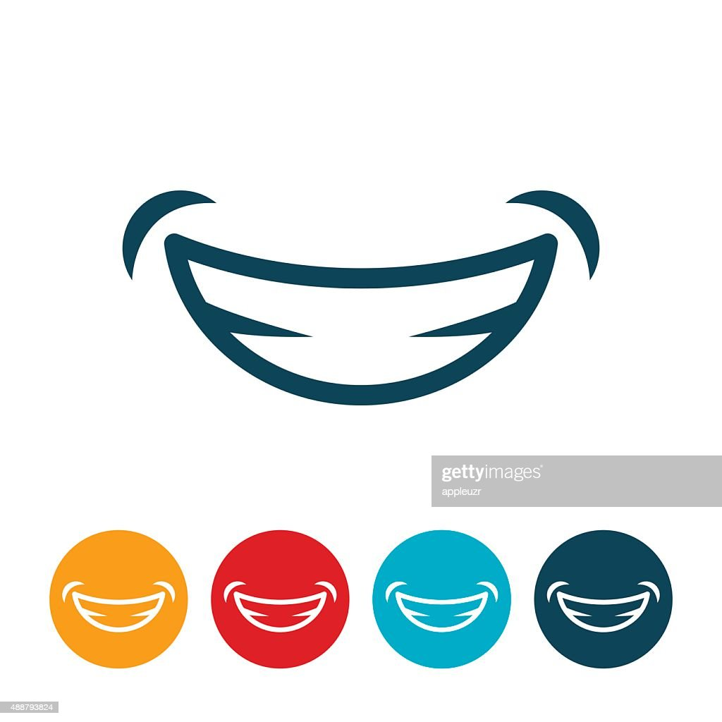 Smile Icon : stock vector
