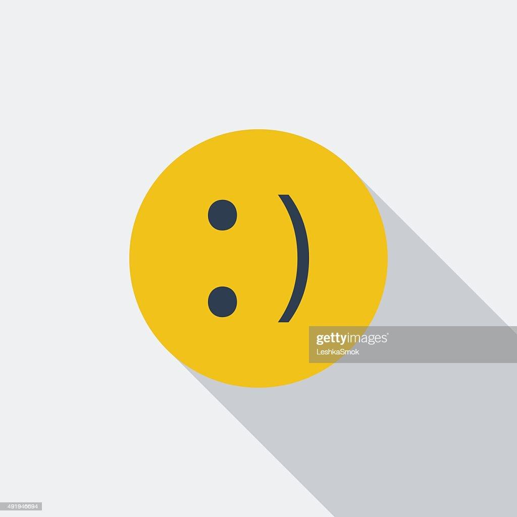 Smile icon.