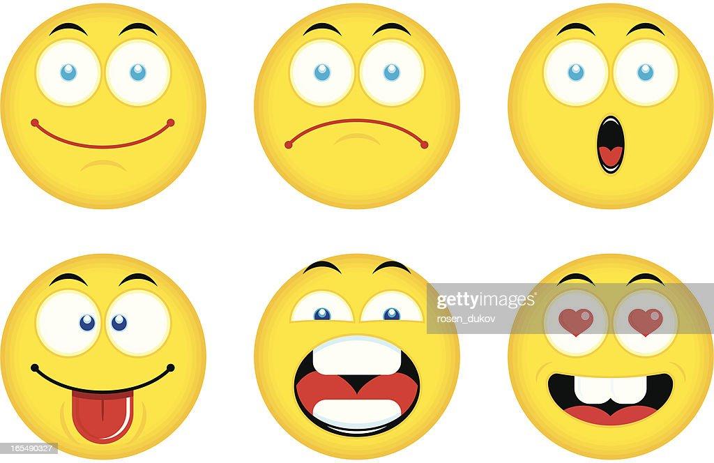 Smiley Emoticons (Set 1)