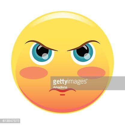 eyebrow up emoticon