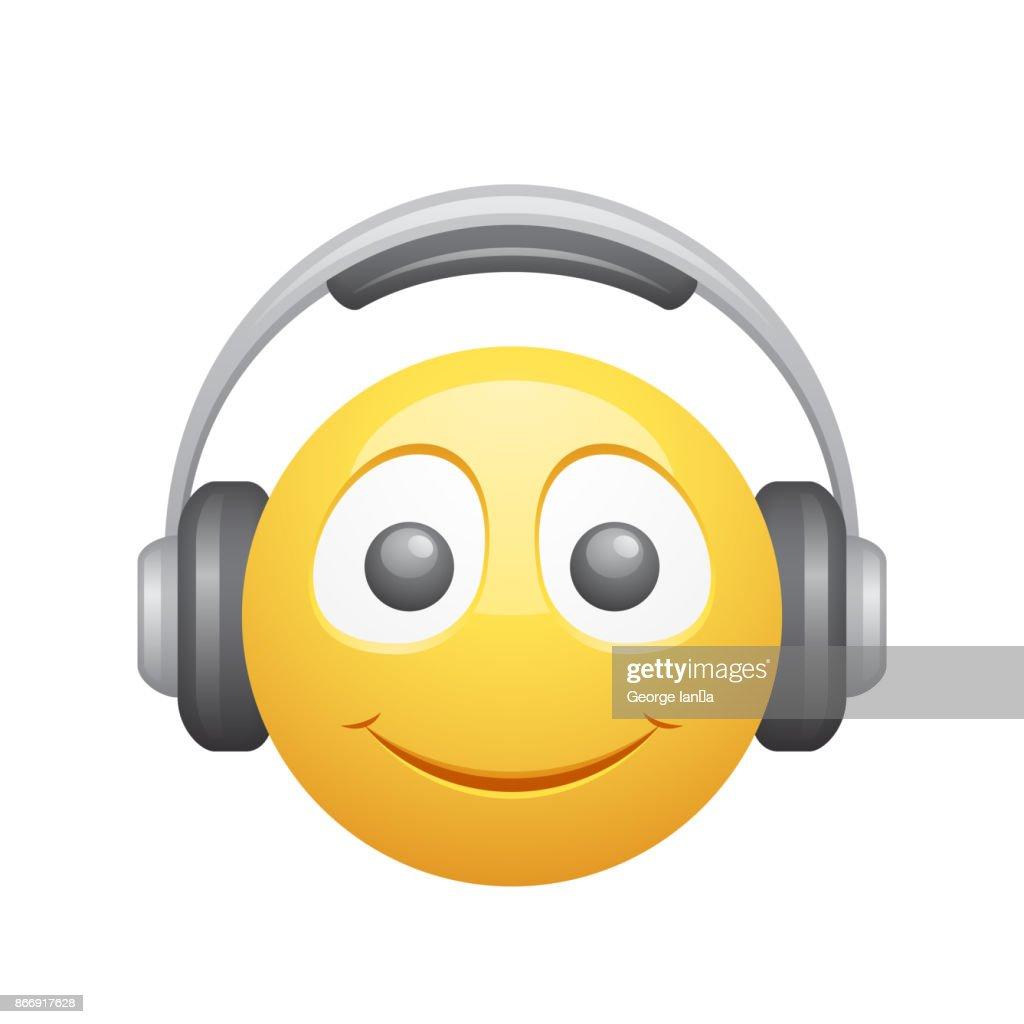 Smiley & Headphones - Novo Icons