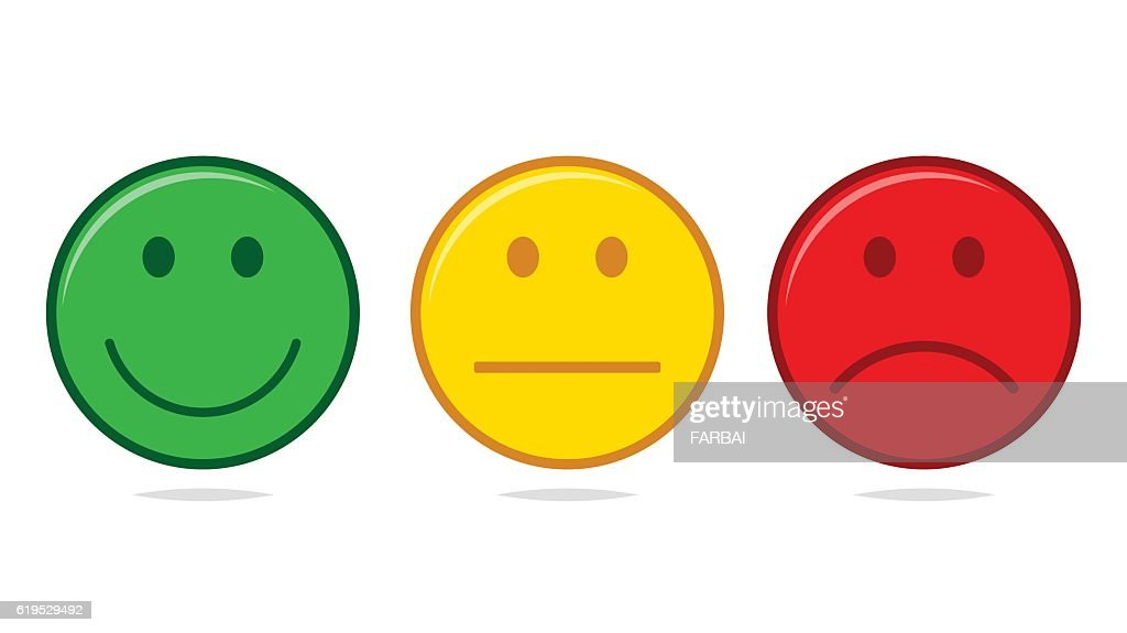 Smiley set vector isolated