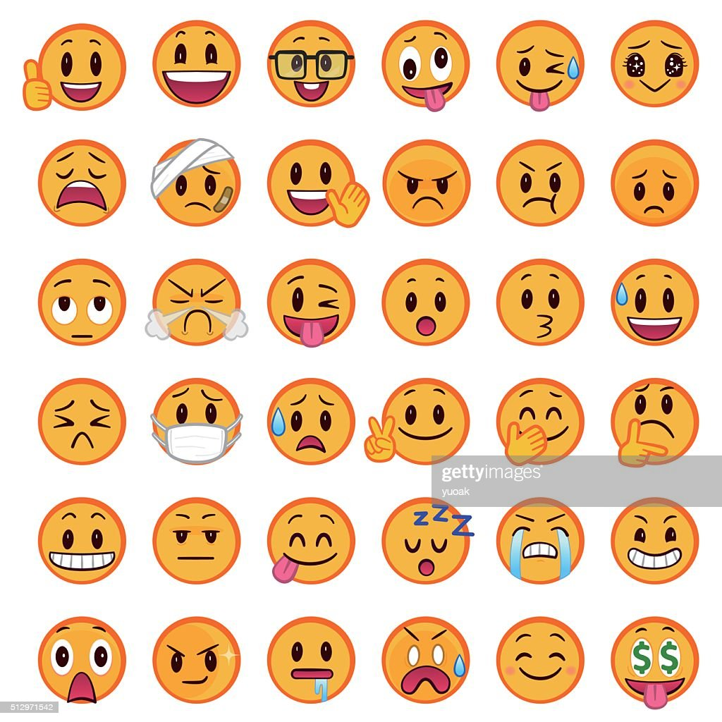 Smileys : stock vector