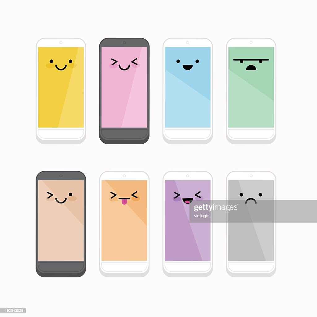 Smiling Cellphone