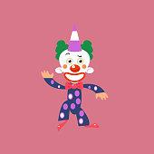 Smiling Clown Greeting