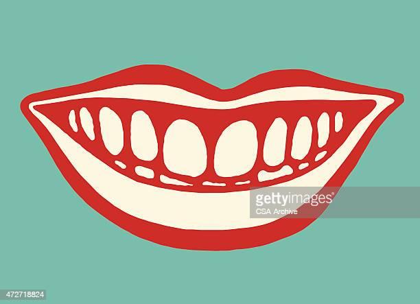 ilustraciones, imágenes clip art, dibujos animados e iconos de stock de la boca sonriente - pintura rupestre