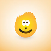 Smiling Yellow Emoji