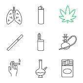 Smoking icons