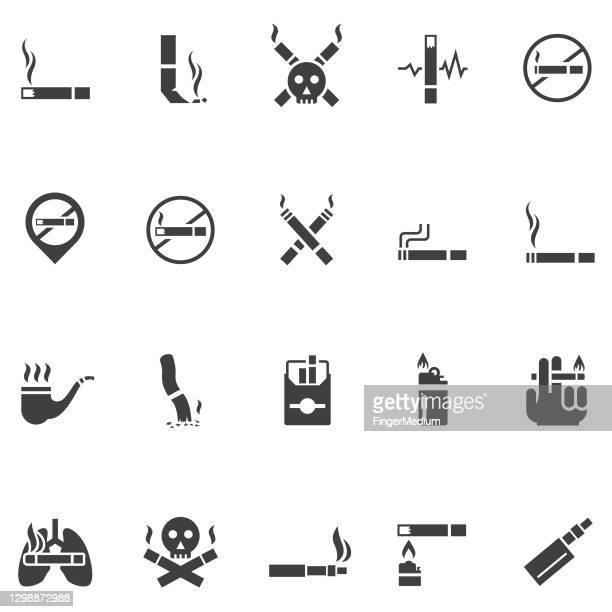 喫煙アイコン - レクリエーショナル・ドラッグ点のイラスト素材/クリップアート素材/マンガ素材/アイコン素材