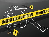 Smoking Kills-Do not Cross