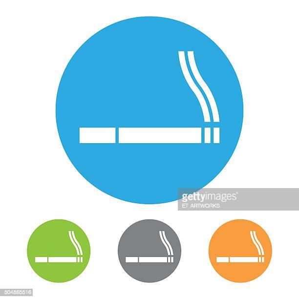 喫煙の標識に進みます。ベクター