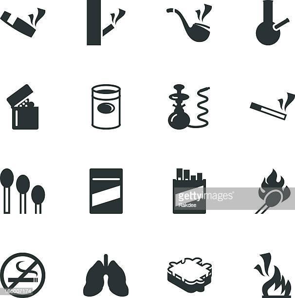 喫煙シルエットアイコン