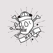 Smoking Skull, Sailor Skeleton