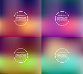 Smooth colorful background