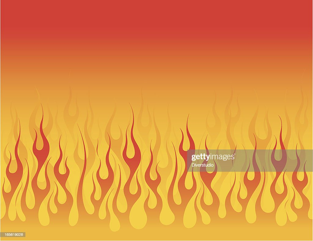 Smooth Flowing Flame Background : stock illustration
