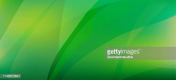 smooth green  abstract background - environmental conservation stock illustrations