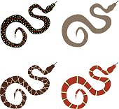 Snake, a set of poisonous snakes.
