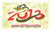 Snake - a symbol of 2013 year