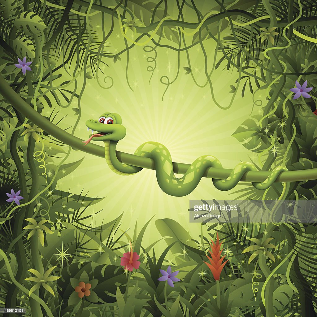 Snake in the Jungle